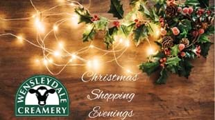 Christmas Shopping Evenings at Wensleydale Creamery