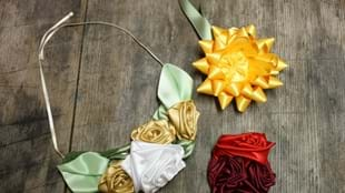 Adult Craft: Floral Ribbons