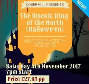 The Biscuit King of the North - Murder Mystery Evening