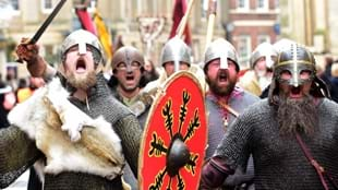 March to Coppergate at JORVIK Viking Festival
