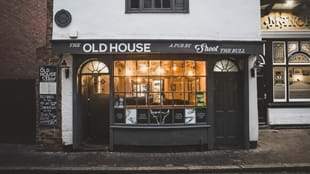 The Old House, a pub by Shoot The Bull
