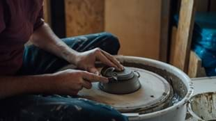 Wheel Thrown Pottery Workshops with Pottery West