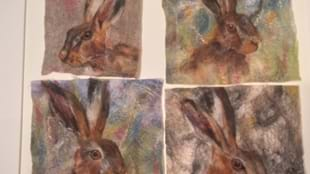 Make an Animal Felted Picture