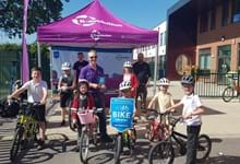 John Marshall MBE awarded for contribution to Yorkshire Bank Bike Libraries