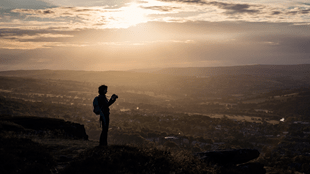 Photo Walk Social, Ilkley Moor at Sunset