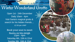Winter Wonderland Grotto