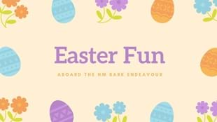 Easter Fun on the HM Bark Endeavour