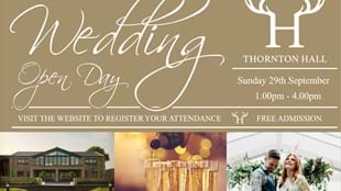 Wedding Open Day at Thornton Hall