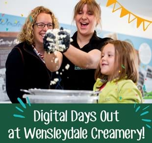 Digital Days Out with Wensleydale Creamery