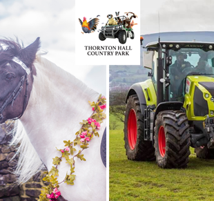 Easter Holiday Fun UNICORN Rides & TRACTOR Madness at Thornton Hall Country  Park