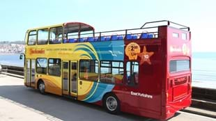 Beachcomber Blue Bridlington-Flamborough Open Top Bus