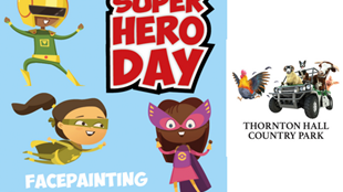 Superhero Day at Thornton Hall Country Park