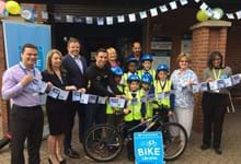Leeds gears up for new Yorkshire Bank Bike Library