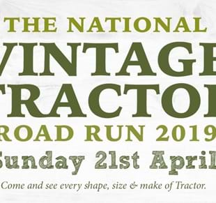 The National Vintage Tractor Road Run 2019