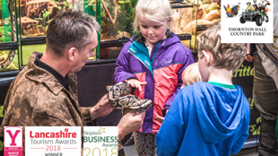 School Holiday Fun CRITTERS 2 YOU at Thornton Hall Country Park