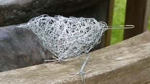 Making a Small Wire Bird