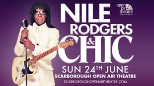 Nile Rodgers & Chic at Scarborough Open Air Theatre
