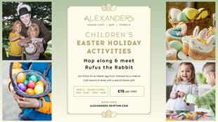 Easter Children's Activities at Alexander's