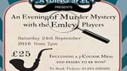 A Night of Murder Mystery with The Emley Players!